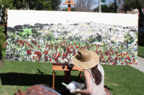 """artist Brooke Harker painting """"Heart of the View"""""""