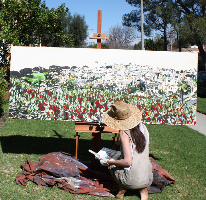 "artist Brooke Harker painting ""Heart of the View"""