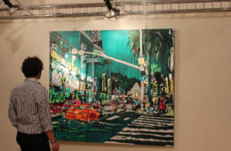 Driving Fire by Brooke Harker on exhibit in Italy