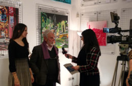 Alfio Borghese interviewed by Extra TV