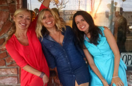 with artists Dasha Guilliam and Jennifer Verge