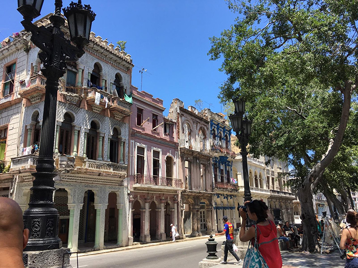 Harker photographs in Havana